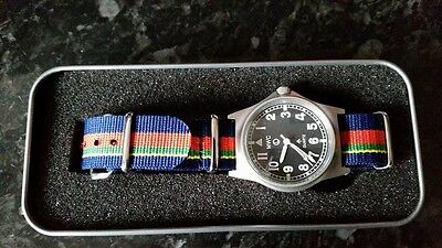 IMPROVED MWC G10 50m With Crows Foot  Watch + Royal Marine Strap, Bootneck RM  • 110£