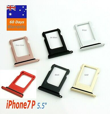 AU2.95 • Buy  IPhone7 Plus  5.5  Sim Card Tray Holder Slot Replacement Silver Gray Gold