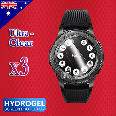 AU2.99 • Buy Clear Screen Protector Film Guard For Samsung Galaxy Gear Watch S2 S3 42mm 46mm