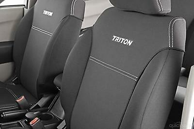 AU240 • Buy MN 2013 - May 2015 Triton Neoprene (WETSUIT MATERIAL) Seat Covers - NEW