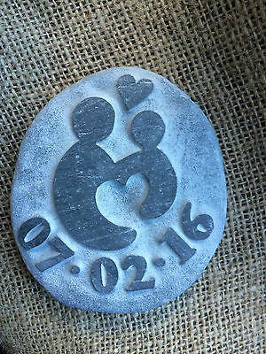 £16 • Buy Christening Gift, Handcarved, With Date Perfect Gift For Godparents, God Daddy