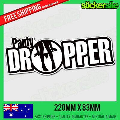 AU7.95 • Buy PANTY DROPPER Sticker Decal - DRIFT FUNNY JDM Decals Illest Illmotion Hoon