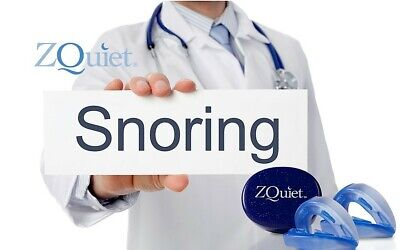 AU79.98 • Buy Anti Snore Mouthpiece ORIGINAL ZQUIET 2 STEP STARTER SYSTEM To Stop Snoring