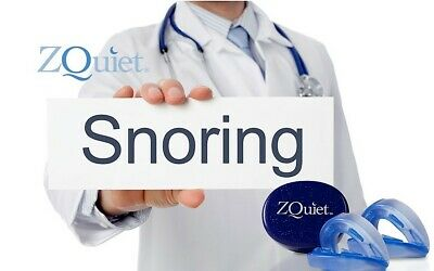 AU79.90 • Buy Anti Snore Mouthpiece ORIGINAL ZQUIET 2 STEP STARTER SYSTEM To Stop Snoring