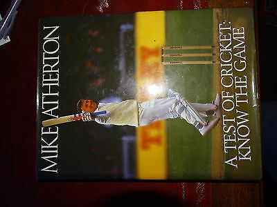 AU45 • Buy Cricket Book Signed By Mike Atherton