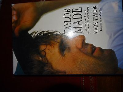 AU45 • Buy Cricket Book Signed / Inscribed By Mark Taylor