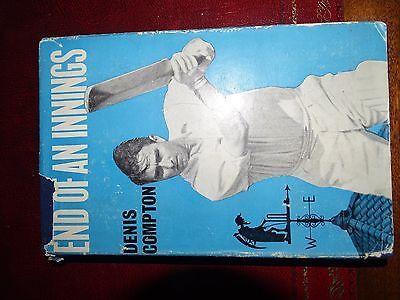 AU55 • Buy Cricket Book Signed By DENIS COMPTON