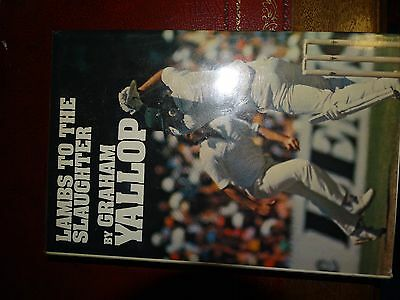 AU40 • Buy Cricket Book Signed BY GRAHAM YALLOP , LEN PASCOE  JEFF MOSS