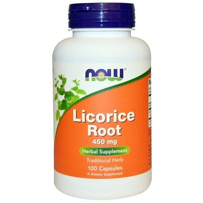 Now Foods, Licorice Root, 450 Mg, 100 Capsules • 11.45£