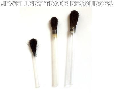 £1.34 • Buy Jewellers Borax Or Flux Applying Brush For Soldering Gold Or Silver Jewellery