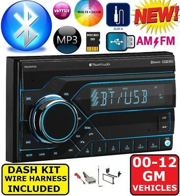 $89.99 • Buy GMC SIERRA TRUCK & SAVANA VAN Usb Bluetooth Radio Stereo Double Din Dash Kit