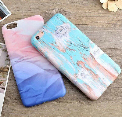 AU10.49 • Buy For IPhone 6 Or 6S+ PLUS - Ultra Thin TPU Rubber Case Cover Painted Marble Wood