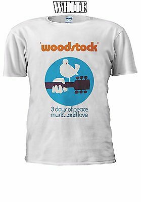 Woodstock 3 Days Of Peace Music Love T-shirt Vest Tank Top Men Women Unisex 2601 • 14.95£