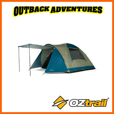 AU165 • Buy Oztrail Tasman 6v Dome Tent Family Camping 6 Person Hiking Camp New Model