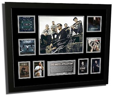 AU89.99 • Buy The Amity Affliction Signed Limited Edition Framed Memorabilia