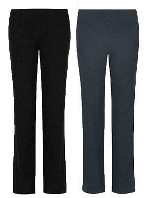 £8.99 • Buy Ladies Ex Marks & Spencer Front Straight Leg Jogger Trousers Sport Active Ex M&s