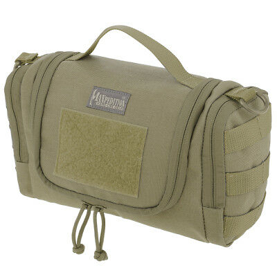 AU139.95 • Buy Maxpedition Aftermath Toiletry Pouch Compact Military Mens Travel Wash Bag Khaki