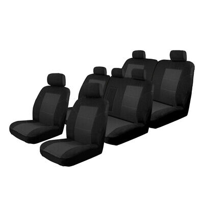 AU179.96 • Buy Esteem Velour Seat Covers Set Suits Ford Everest 7/2015-On 3 Rows