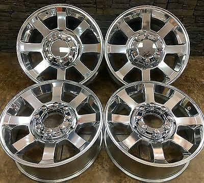 $1595 • Buy 20  20 INCH FORD F250 F350 SD POLISHED WHEELS RIMS 07-17 OEM SPECS SET Of 4 3693