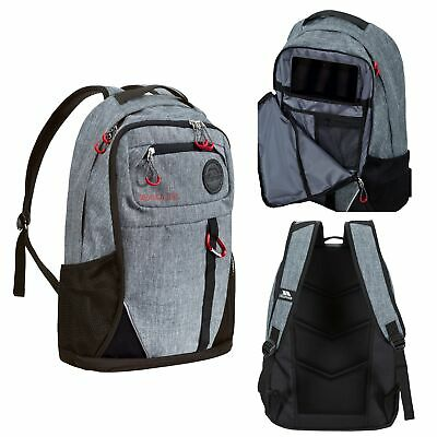 £28.99 • Buy Trespass Rocka Adults Backpack Grey 35 Litre With Zipped Compartments