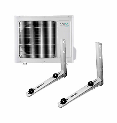 Split Air Conditioning Conditioner Outdoor Condenser Wall Mounted Brackets 90kg • 60.96£