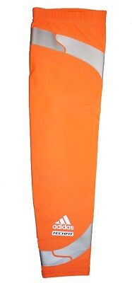 194e314076 NWT Adidas Men's Techfit Powerweb GFX Compression Arm Elbow Sleeve - Orange  • 13.50$