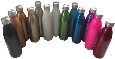 AU24.95 • Buy 750ml Oasis D.Line Stainless Steel Thermos Insulated Drink Bottle - 38 Colours