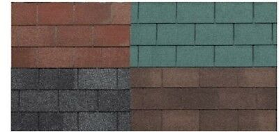 £34.36 • Buy Roof Felt Tiles Shingles Roof Protector Wooden House Shed Garden 3m²