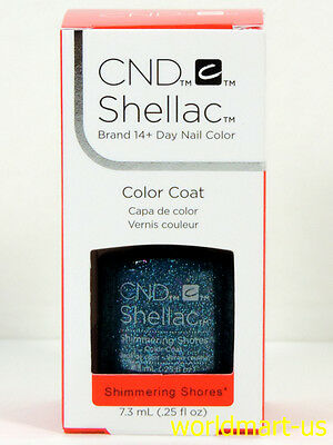 AU18.85 • Buy CND Shellac GelColor 0.25fl.oz UV/LED Polish #91586- Shimmering Shores