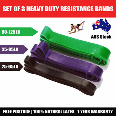 AU69.98 • Buy Strength Band Power Resistance Rubber Band Chin Up Pull Up Training Exercise Gym