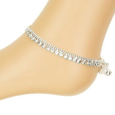 £5.99 • Buy Stunning Simple Ankle Chain Anklet Payal Indian Bollywood Anklets Single Or Pair