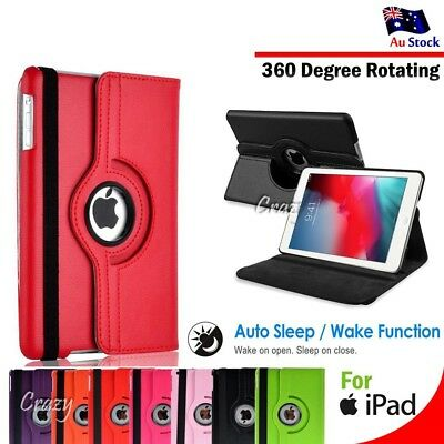 AU13.95 • Buy Smart 360 Rotate Case Cover For Apple IPad Pro 10.5  Air 1 2 3 4 5th 6th 7th Gen
