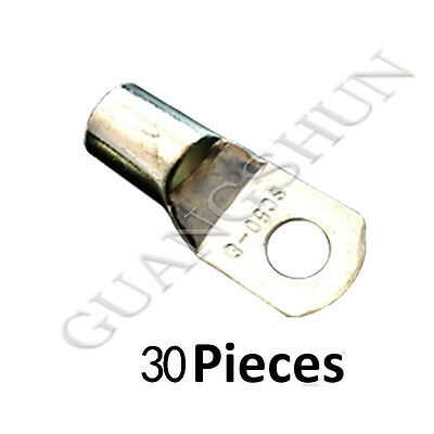 $ CDN17.80 • Buy 30PCS Battery Cable Ends Lugs Ring Terminals Connectors Tin Plated Pure Copper