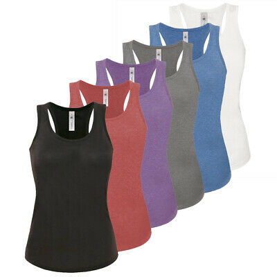 3 Pack Womens Ladies Vests Cami Sleeveless Top T-shirt Tank Top Gym Yoga Fitness • 8.99£