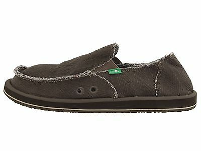 Sanuk Hemp Olive Men's Slip On Sidewalk Surfers SMF1010 • 36.43£