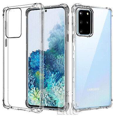 AU7.49 • Buy Shockproof Clear Case Cover For Samsung Galaxy S20+ Ultra S10 S9 S8 Plus S10e