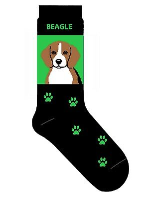 Beagle Socks Gift/Present Dog Cotton  • 9.99£