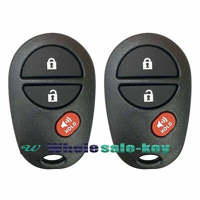 $ CDN19.30 • Buy 2 Keyless Entry Remote Control Replacement For Tundra Tacoma Sequoia GQ43VT20T