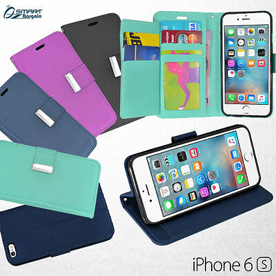 AU6.99 • Buy More Wallet Flip Extra Card Slot Leather Case Cover For IPhone 7 7 Plus 6s Plus