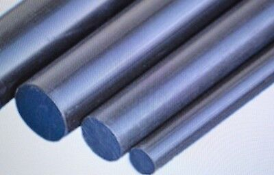 PVC Plastic Nylon ROUND BAR  6MM 8MM 10MM MANY SIZES AND LENGTHS  • 2.99£