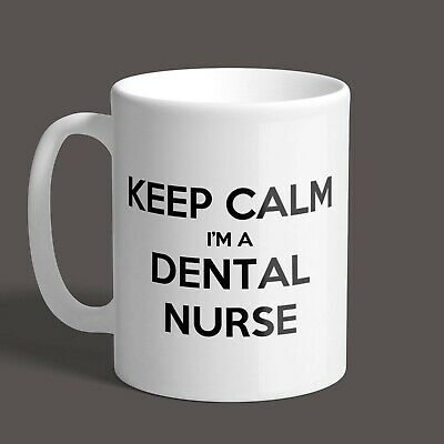 Keep Calm I'm A Dental Nurse Mug - Gift / Present / Novelty / Job Mug • 8.95£