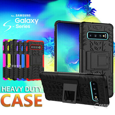 AU6.95 • Buy Rugged Heavy Duty Shockproof Case Cover For Samsung Galaxy S10e S10 S9 S8 Plus