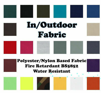 £0.99 • Buy In Outdoor Fabric Polyester/Nylon Based Fire Retardant Water Resist By The Metre