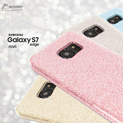 AU5.99 • Buy Glitter Shining Bling TPU Jelly Gel Case Cover For Samsung Galaxy S7 / S7 Edge