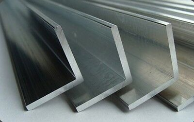 £11.99 • Buy ALUMINIUM EXTRUDED ANGLE !!! 2 Meter Long !!!  Various Sizes - BEST PRICE