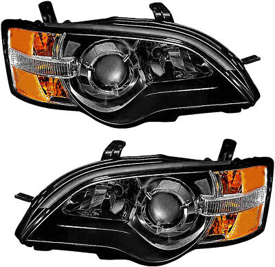 $275.95 • Buy Headlights Headlight Assembly W/Bulb NEW Pair Set For 2005 Subaru Legacy Outback