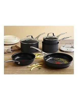 AU299 • Buy Brand New - Jamie Oliver By Tefal E905S544 5 Piece Anodised Induction Cookware