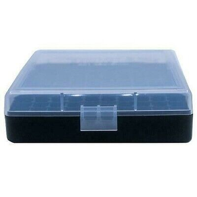 AU8.88 • Buy AMMO BOXES (1) CLEAR 100 Round 9MM / 380 - Berry's Plastic Container