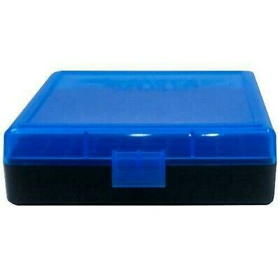 AU8.39 • Buy AMMO BOXES (1) BLUE 100 Round 9MM / 380 - Berry's Plastic Container