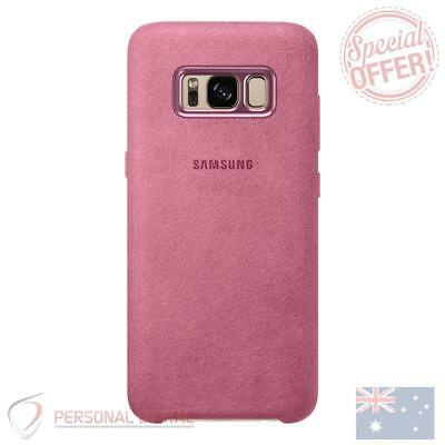 AU29.95 • Buy Genuine Samsung Galaxy S8 Plus Alcantara Back Cover - Pink New |BRAND NEW|